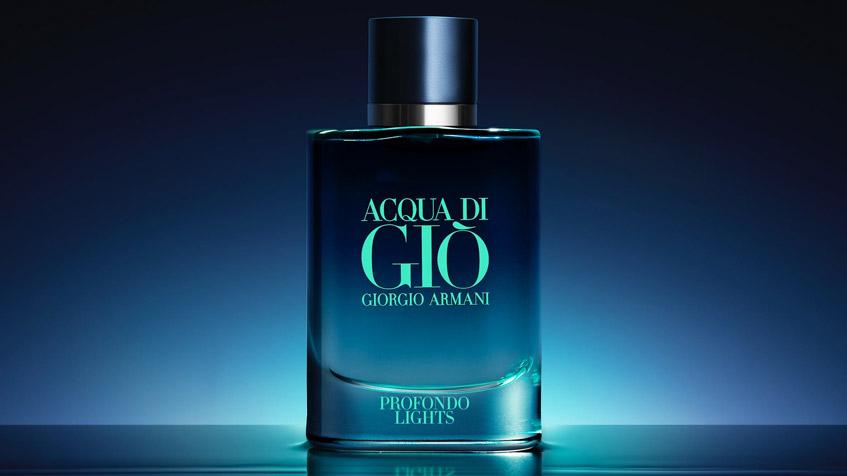 Read more about the article Acqua di Giò Profondo Lights: existe luz no fundo do oceano!