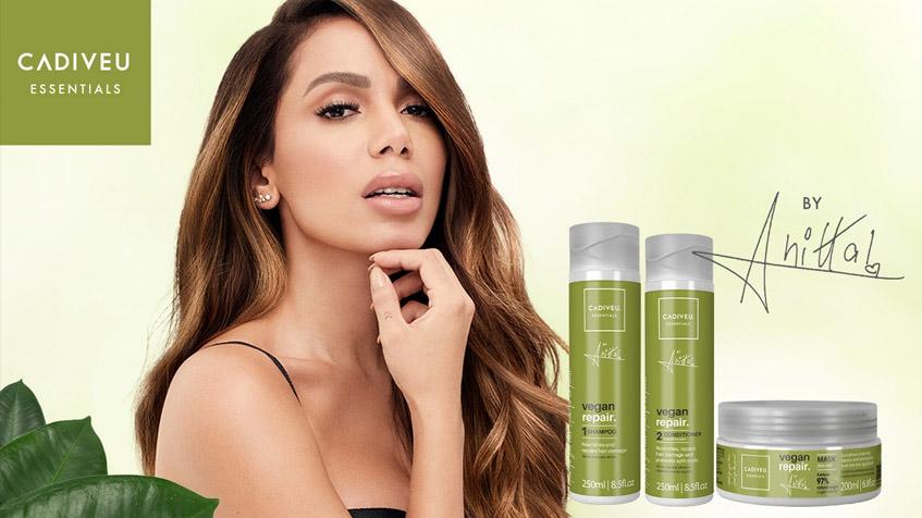 Read more about the article Cadiveu e Anitta fecham parceria para nova linha de cabelos